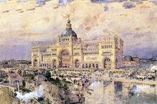 The Mackaye Spectatorium - Frederick Childe Hassam