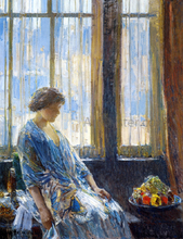 The New York Window - Frederick Childe Hassam
