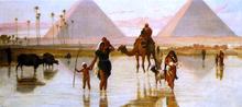 Pyramids Paintings