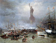 Statue of Liberty Celebration - Frederick Rondel