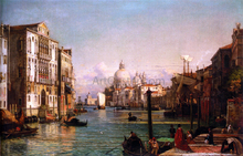 Der Canale Grande, Venedig - The Younger Friedrich Nerly