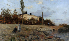 Evening at the Bay of Frogner