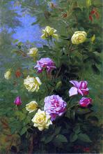 Climbing Roses - George Cochran Lambdin