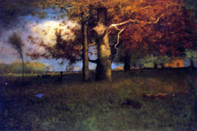 Early Autumn, Montclair - George Inness