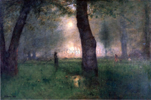The Trout Brook - George Inness