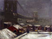 Brooklyn Bridge - George Luks