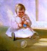 Child with a Toy