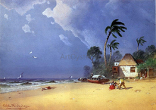 Beaches and Shorelines Paintings