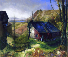 Mountain Farm - George Wesley Bellows