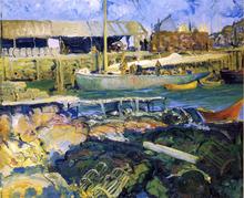 A Fish Wharf, Matinicus Island