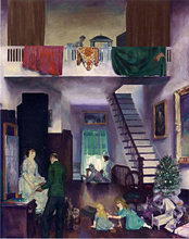 A Studio - George Wesley Bellows