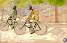 Paul Ranson and Georges Lacombe Cycling