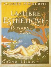 Exhibition Poster for La Libre Esth Tique