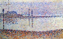 Study for 'The Channel at Gravelines'
