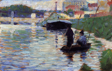 The Bridge - View of the Seine - Georges Seurat