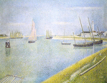 The Channel at Gravelines, in the Direction of the Sea