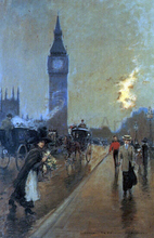 A View of Big Ben, London - Georges Stein