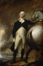 George Washington at Dorcester Heights