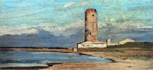 La Torre Rossa (also known as La Torre del Marzocco) - Giovanni Fattori