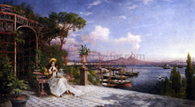 Lost in Reverie by The Bay of Naples - Giuseppe Castiglione