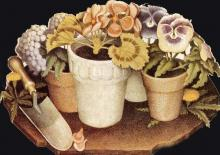 Cultivation of Flowers - Grant Wood