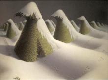 January - Grant Wood