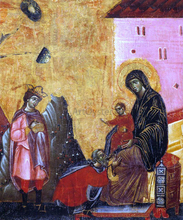 Adoration of the Magi (detail)