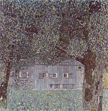 Farmhouse in Upper Austria - Gustav Klimt