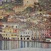 A Scene of Malcesine on Lake Garda