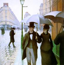 Paris Street - Gustave Caillebotte