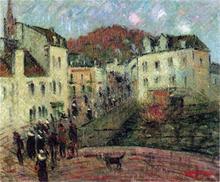 Moulin a Pont Aven - Gustave Loiseau
