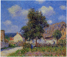 Small Farm at Vaudreuil - Gustave Loiseau