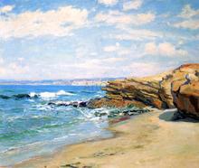 La Jolla Beach - Guy Orlando Rose