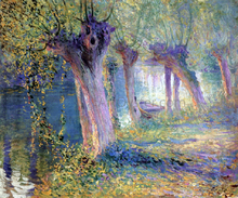 Untitled (also known as River Epte, Giverny) - Guy Orlando Rose