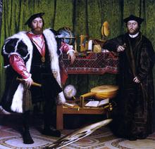 Double Portrait of Jean de Dinteville and Georges de Selve (also known as The Ambassadors)