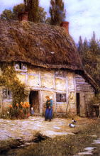 Ranches and Farmhouses Paintings