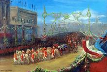 Queen Victoria's Diamond Jubilee: The Royal Procession Passing over London Bridge, 20 June 1897