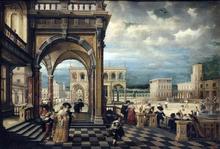 Italian Palace - The Younger Hendrick Van  Steenwyck