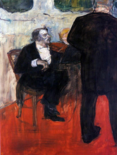 The Violinist Dancia - Henri De Toulouse-Lautrec