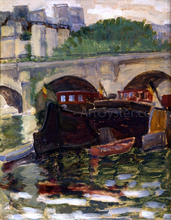 Barges - Henri Edmond Cross
