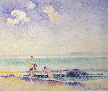 Bathers - Henri Edmond Cross