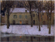 Little place by the river - Henri Le Sidaner