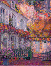 A Mansion in the Afternoon - Henri Le Sidaner