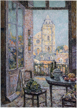 Table by the Window - Henri Le Sidaner