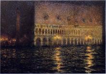 The Ducal Palace - Henri Le Sidaner
