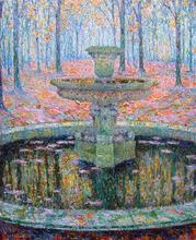 A Fountain - Henri Le Sidaner