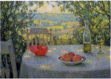The Table - Henri Le Sidaner