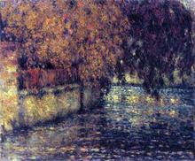 The Wall, Autumn - Henri Le Sidaner