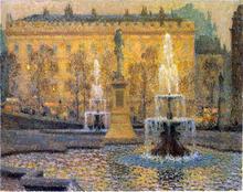 Trafalgar Square - Henri Le Sidaner