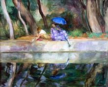 By the Fountain - Henri Lebasque